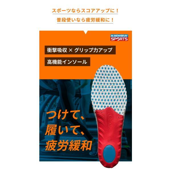中敷き インソール M.MOWBRAY SPORTS ENERGYα エナジーアルファ ゴルフ 野球 ソフトボール テニス resources-shoecare 10