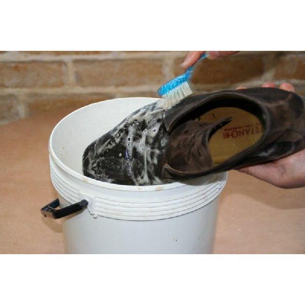 R&D クリーニングブラシ サドルソープ スエードシャンプー用 靴磨き 汚れ落とし|resources-shoecare|03
