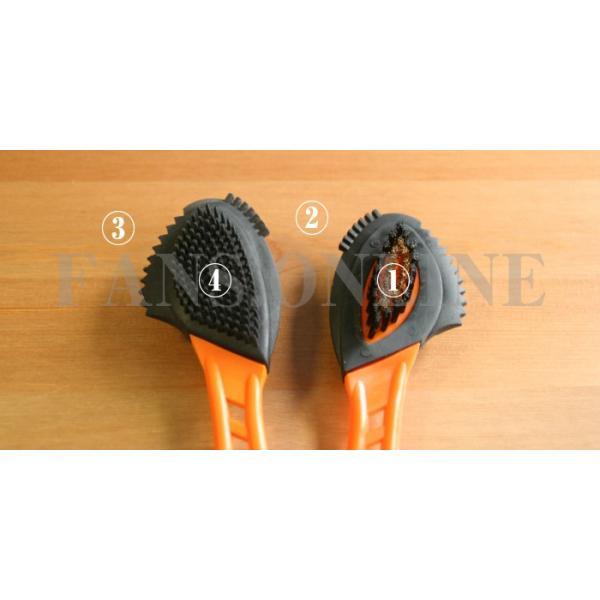 靴磨き 革靴 手入れ R&D クワトロスエードブラシ 起毛皮革 ワイヤーブラシ ヌバック ムートン |resources-shoecare|02
