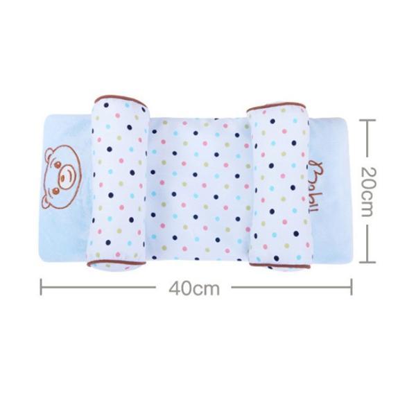 ベビー枕 新生児 赤ちゃん 頭の形が良くなる 向き癖防止 寝返り防止 枕カバー洗える 多機能 ベビーピロー かわいい 出産祝い ギフト|resty|05
