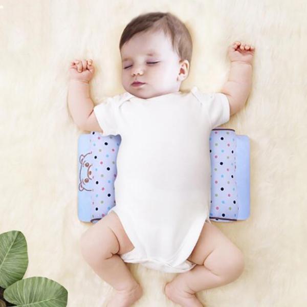 ベビー枕 新生児 赤ちゃん 頭の形が良くなる 向き癖防止 寝返り防止 枕カバー洗える 多機能 ベビーピロー かわいい 出産祝い ギフト|resty|06