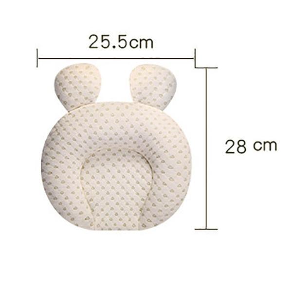 ベビー枕 新生児 ラテックス枕 低反発 ドーナツ型 枕カバー洗える 赤ちゃん ドーナツ枕 頭の形が良くなる 絶壁防止 寝ハゲ対策 向き癖防止|resty|04