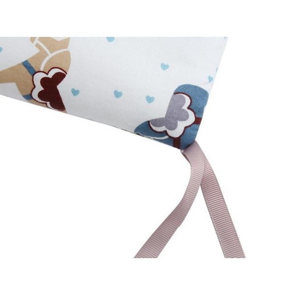 セール ベッドガード 赤ちゃん ベビーベッド  クッション 6点セット ベッドバンパー 衝撃吸収 けが防止 転落防止 出産祝い|resty|06