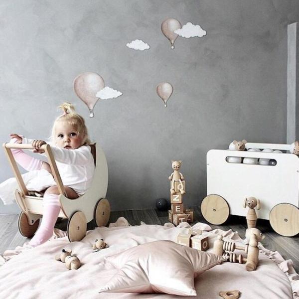 短納期 ベビーマット サニーマット フリル 無地 北欧 おしゃれ ラグ 丸型 円形 低反発 洗える オールシーズン リビング 床 赤ちゃん プレイマット resty 13