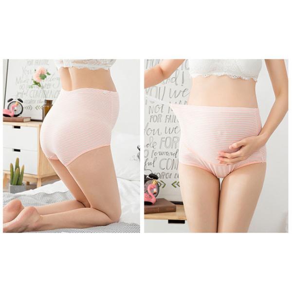 送料無料 マタニティショーツ 4枚セット レディース 妊婦 下着 パンツ 産前 産後 妊婦用 通気性|resty|07