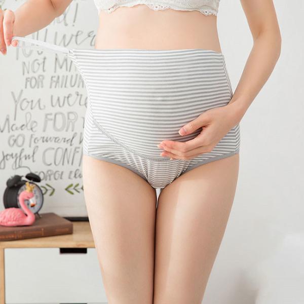 送料無料 マタニティショーツ 4枚セット レディース 妊婦 下着 パンツ 産前 産後 妊婦用 通気性|resty|08