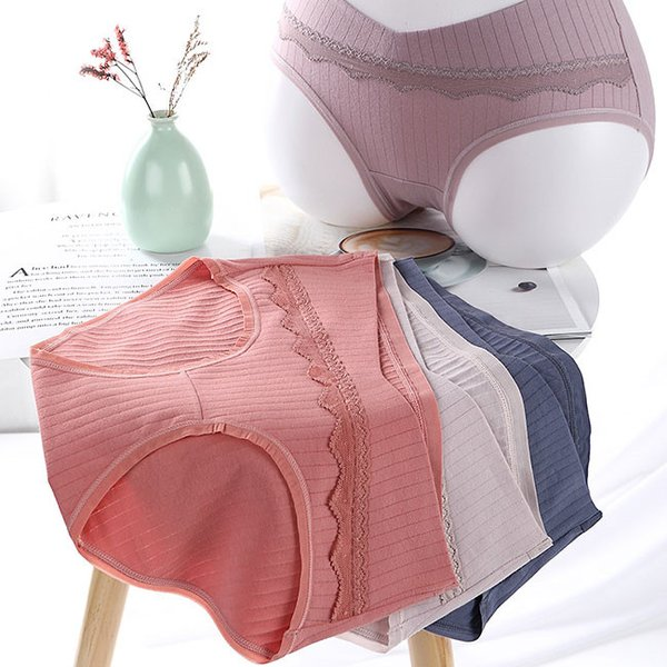 送料無料 マタニティショーツ 5枚セット レディース 妊婦 下着 パンツ 産前 産後 妊婦用 通気性|resty|05
