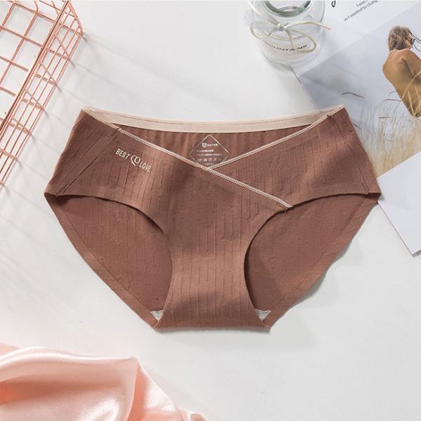 送料無料 マタニティショーツ 3枚セット レディース 妊婦 下着 パンツ 産前 産後 妊婦用 通気性|resty|08