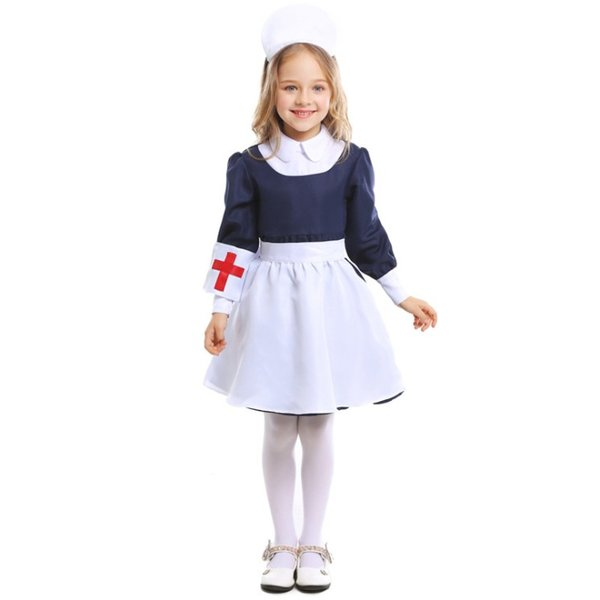 早割セール10%OFF 即納 メール便送料無料 ハロウィン コスプレ 衣装 キッズ 子供 女の子 ナース服 制服 かわいい コスチューム 大人 仮装 変装 服|resty|07