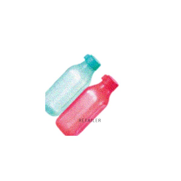 ♪ 2本セット Tupperware タッパーウェア スクエアエコボトル1L(2)<持ち歩き容器・アクティブ容器・保存容器・日用雑貨・スクエア型・水筒・大容量>