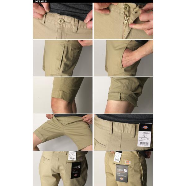 (ディッキーズ) Dickies コットン ストレッチ ショート パンツ ショーツ ハーフパンツ 短パン メンズ レディース|retom|05
