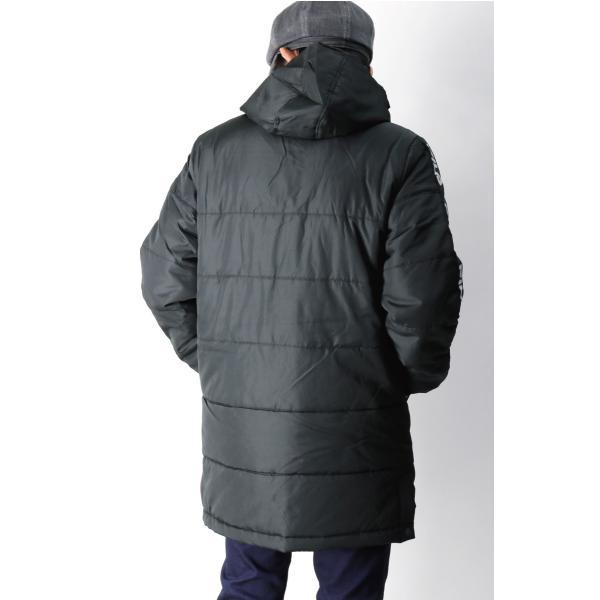(フィラ) FILA 中綿入り ベンチ コート セミロング コート フードコート メンズ レディース|retom|05