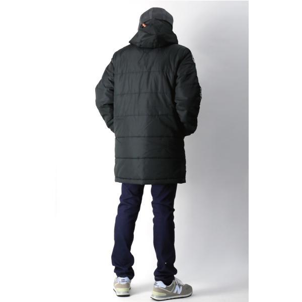 (フィラ) FILA 中綿入り ベンチ コート セミロング コート フードコート メンズ レディース|retom|07