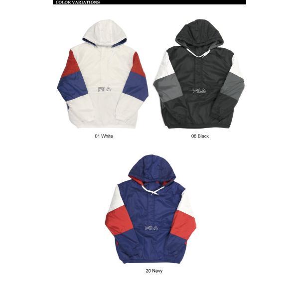 (フィラ) FILA 中綿入り アンロック フード ジャケット ハーフジップ パーカー メンズ レディース retom 10