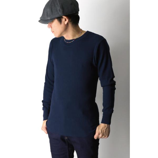 (へインズ) Hanes サーマル クルーネック ロングスリーブ Tシャツ カットソー ロンT メンズ レディース|retom|04