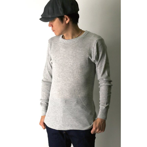 (へインズ) Hanes サーマル クルーネック ロングスリーブ Tシャツ カットソー ロンT メンズ レディース|retom|05