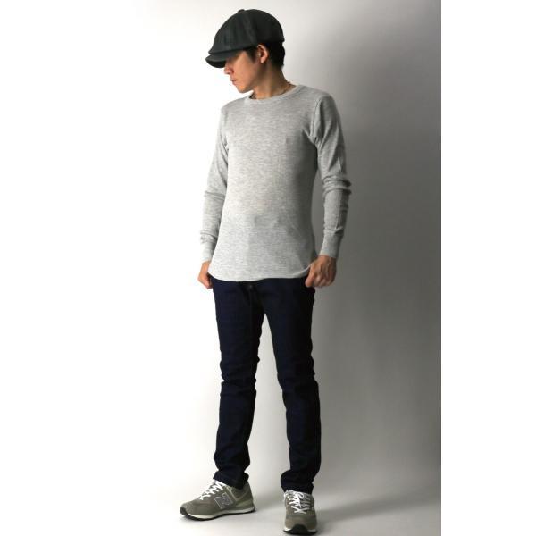 (へインズ) Hanes サーマル クルーネック ロングスリーブ Tシャツ カットソー ロンT メンズ レディース|retom|07