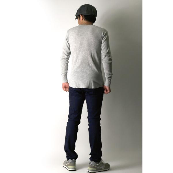 (へインズ) Hanes サーマル クルーネック ロングスリーブ Tシャツ カットソー ロンT メンズ レディース|retom|08