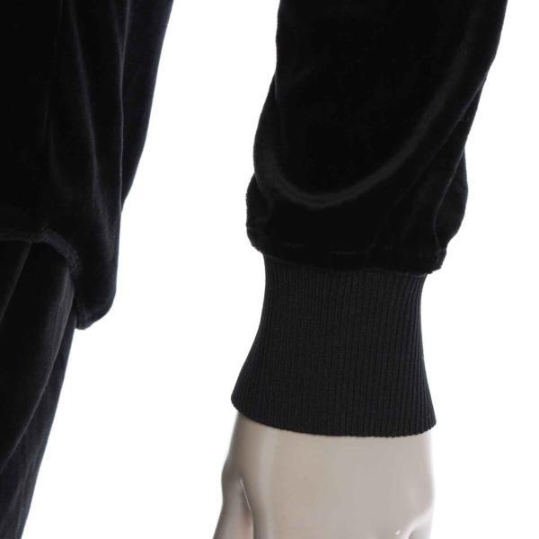 【ダブルスタンダードクロージング】DOUBLE STANDARD CLOT ベルベットシャツ&ストレッチパンツ セットアップ ブラック Free 【中古】【正規品保証】23610|retrojp|06