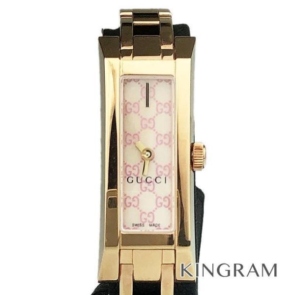 57e98760b8c8 グッチ GUCCI Gリンク Ref.YA110521 110 クォーツ レディース 腕時計 ec 【アウトレット】| ...