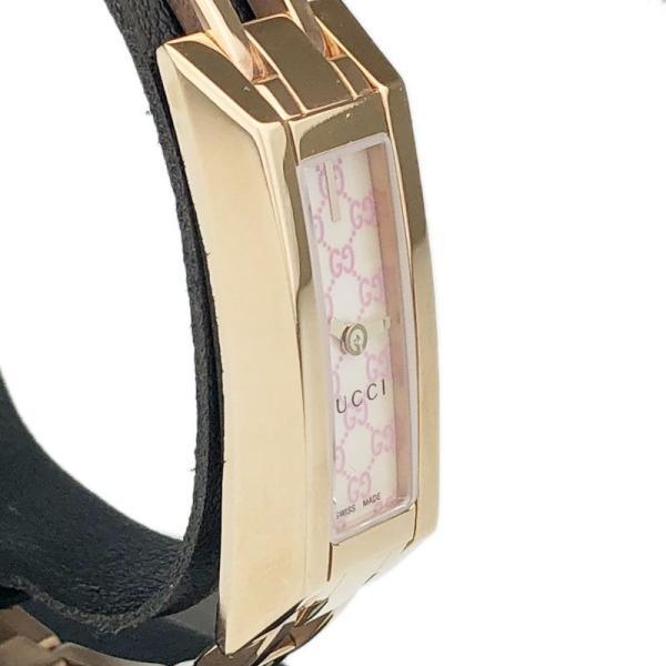 0c0ae1bced2f ... グッチ GUCCI Gリンク Ref.YA110521 110 クォーツ レディース 腕時計 ec 【アウトレット】| ...