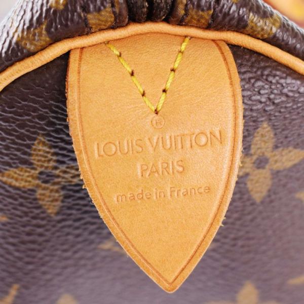 ルイ・ヴィトン LOUIS VUITTON モノグラムスピーディ25 ハンドバッグ M41528 モノグラム PVC ハンドバッグ gi