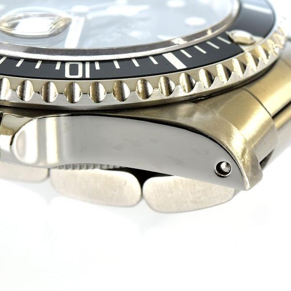 ロレックス サブマリーナ 16610 L番 OH済 自動巻  メンズ 腕時計 hs【中古】 reusmilemall 08