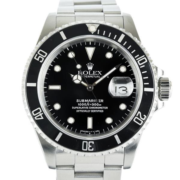 ロレックス サブマリーナ 16610 L番 OH済 自動巻  メンズ 腕時計 hs【中古】 reusmilemall 10