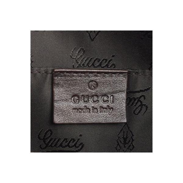 グッチ GUCCI ヒステリアGGクリスタル ミニボストンバッグ 181485 ベージュ×ダークブラウン コーティングキャンバス×レザー ハンドバッグ ku