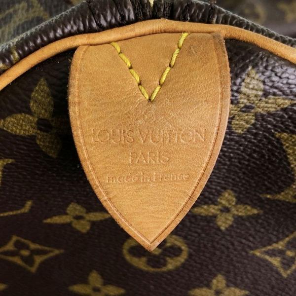 ルイ・ヴィトン LOUIS VUITTON モノグラム スピーディ40 M41522 モノグラム PVC ハンドバッグ mo