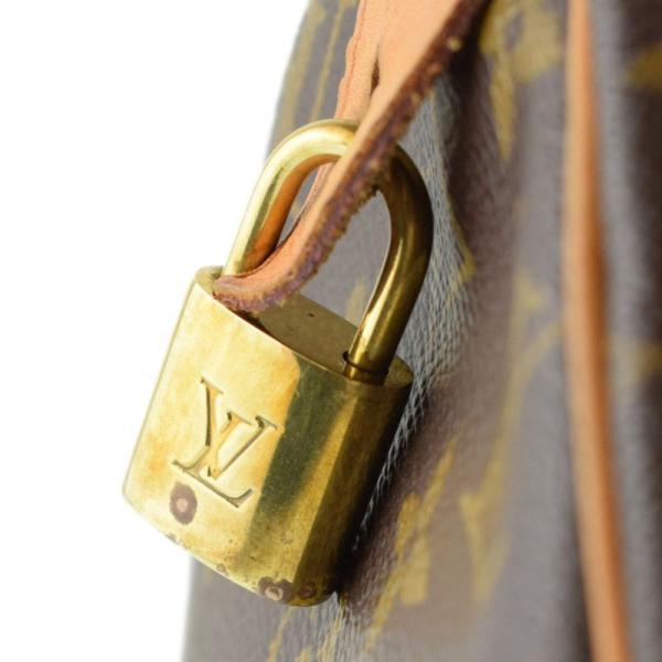 ルイ・ヴィトン LOUIS VUITTON モノグラム スピーディ30 M41526 PVC ハンドバッグ te