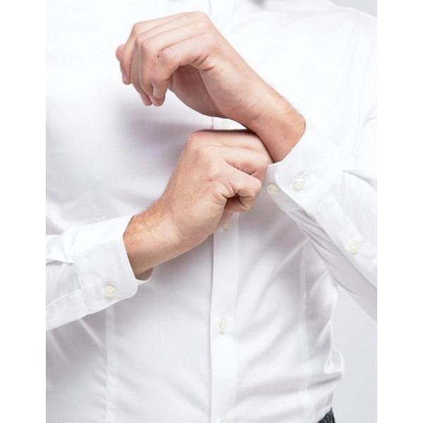 ジャック アンド ジョーンズ メンズ シャツ トップス Jack & Jones Premium Stretch Shirt in Slim Fit revida 02