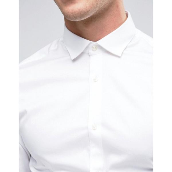 ジャック アンド ジョーンズ メンズ シャツ トップス Jack & Jones Premium Stretch Shirt in Slim Fit revida 03