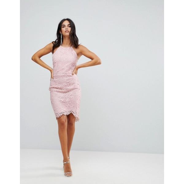 アドレイン ラエ レディース ワンピース トップス Adelyn Rae Louise Fishtail Sheath Lace Dress