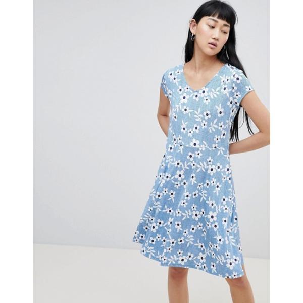ビーヤング レディース ワンピース トップス b.Young Floral T-Shirt Dress