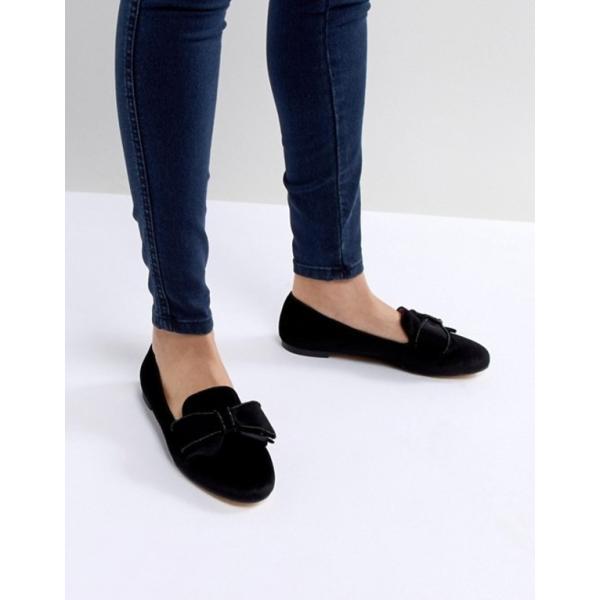 オフィス レディース パンプス シューズ Office Fortress Bow Flat Shoes