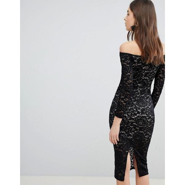 グラマラス レディース ワンピース トップス Glamorous Lace Dress