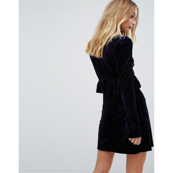 ミリーマッキントッシュ レディース ワンピース トップス Millie Mackintosh Velvet Ruffle Dress
