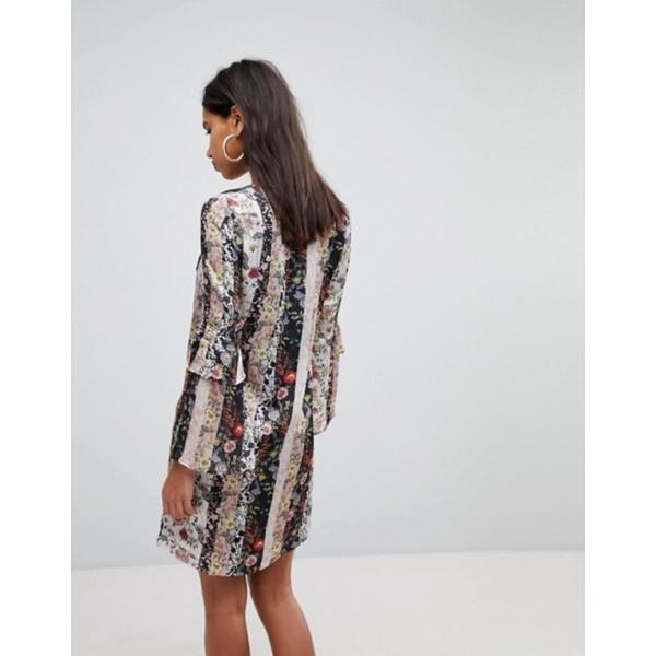モーガンレーン レディース ワンピース トップス Morgan Mix n Match Floral Shift Dress