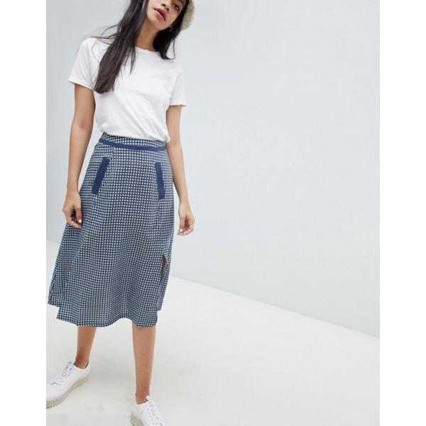 ライダー レディース スカート ボトムス Ryder Jessie Gingham Maxi Volume Skirt