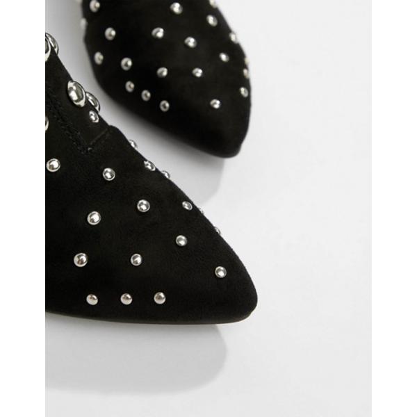 プリティリトルシング レディース ブーツ・レインブーツ シューズ PrettyLittleThing Dome Studded Ankle Boots