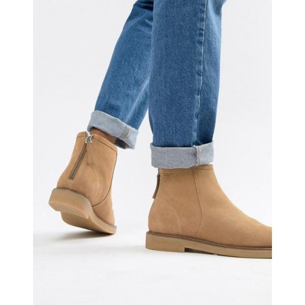 バガボンド レディース ブーツ・レインブーツ シューズ Vagabond Christy warm lining suede desert ankle boot