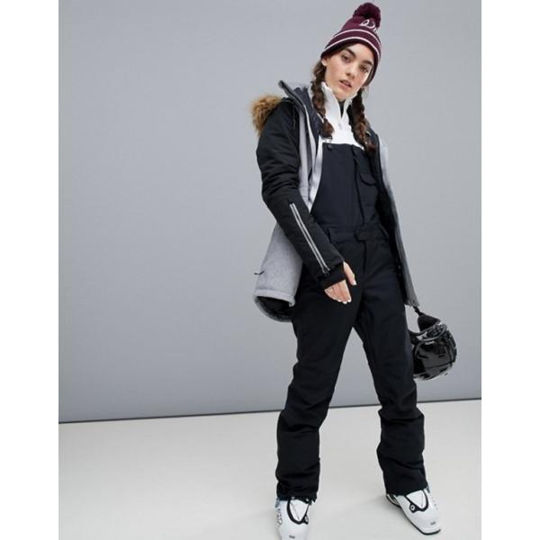ボルコム レディース ジャケット・ブルゾン アウター Volcom Fawn insulated ski jacket in gray|revida|04