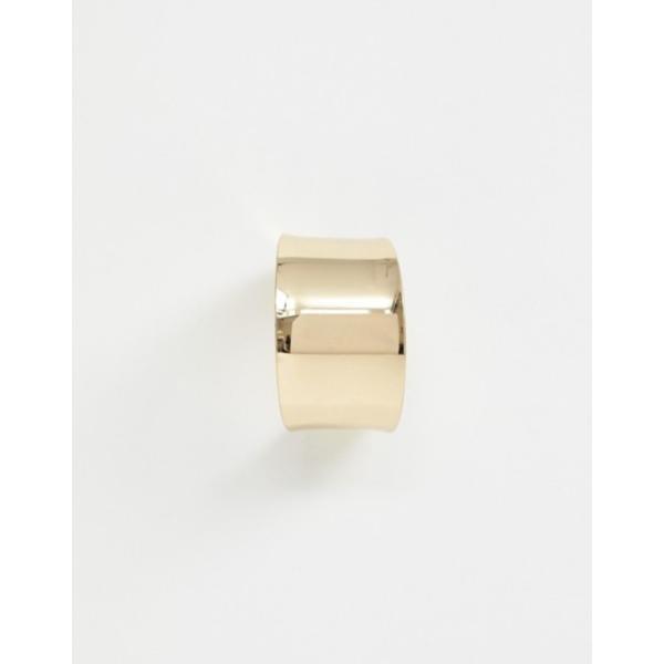 ウエアハウス レディース ピアス・イヤリング アクセサリー Warehouse clean hoop earrings in gold