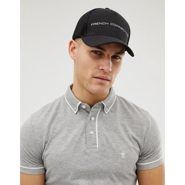フレンチコネクション メンズ 帽子 アクセサリー French Connection FCUK trucker cap|revida