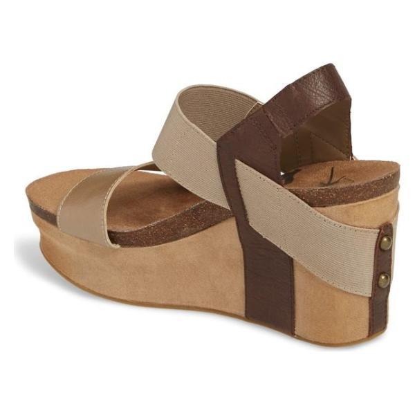 オーティービーティー レディース サンダル シューズ OTBT 'Bushnell' Wedge Sandal