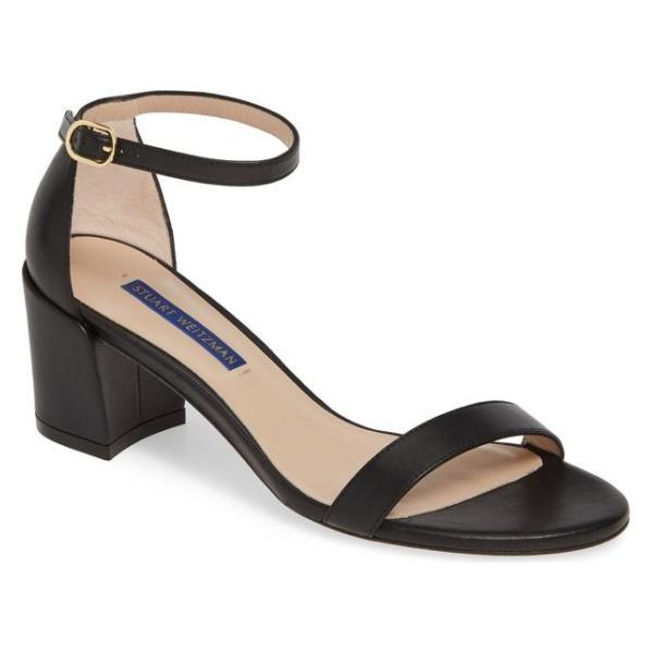 スチュアート ワイツマン レディース サンダル シューズ Stuart Weitzman Simple Ankle Strap Sandal (Women)