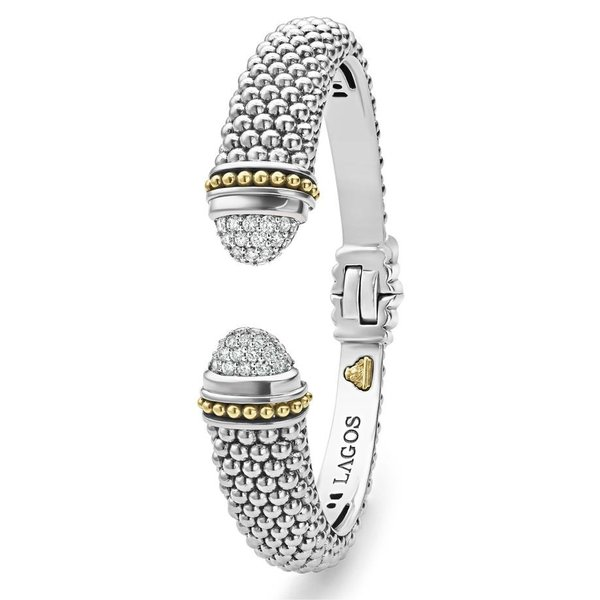 ラゴス レディース ブレスレット・バングル・アンクレット アクセサリー LAGOS Caviar Diamond Cuff