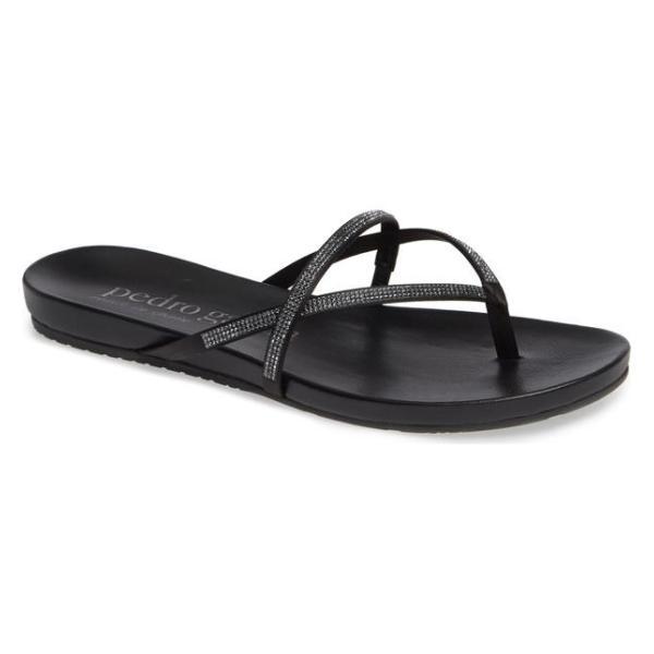 ペドロガルシア レディース サンダル シューズ Pedro Garcia Giulia Crystal Embellished Sandal