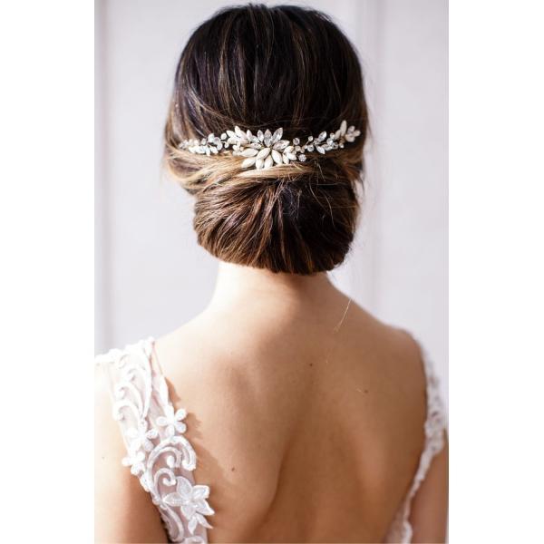 ブライズ & ヘアピンズ レディース ハンドバッグ バッグ Brides & Hairpins Rhea Halo with Combs